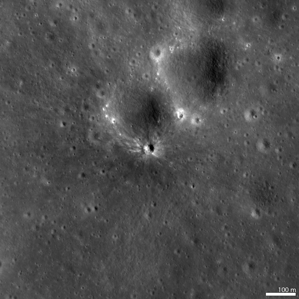 New Crater! 11 September 2013