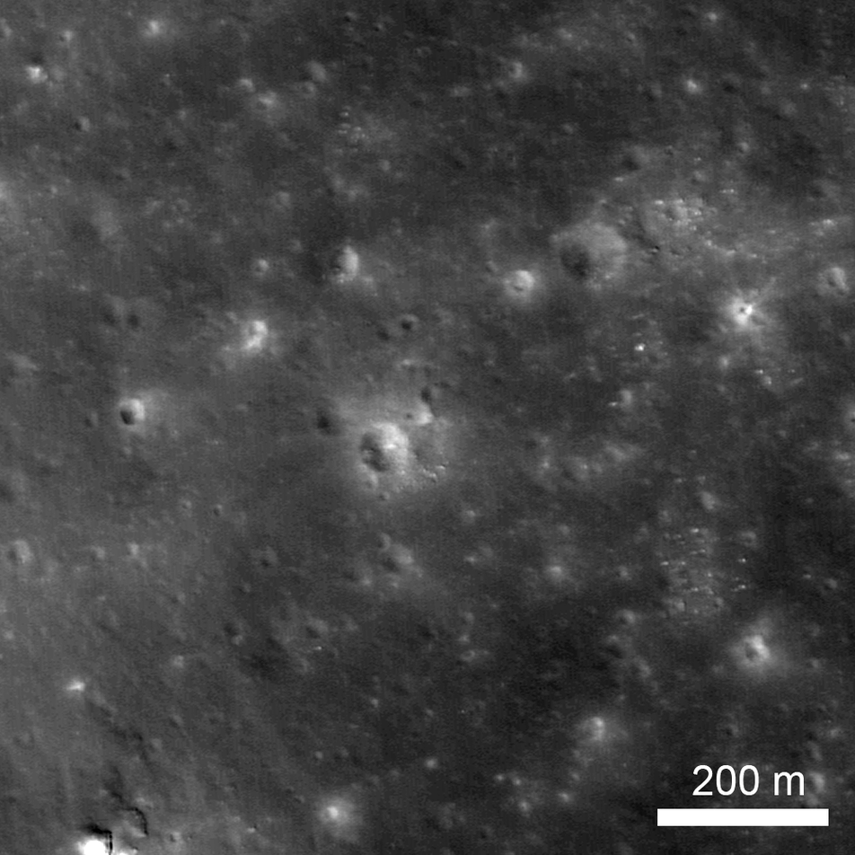 NAC image of LADEE impact site
