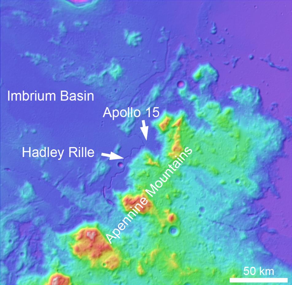 Soaring Over Mighty Mt. Hadley | Lunar Reconnaissance Orbiter Camera