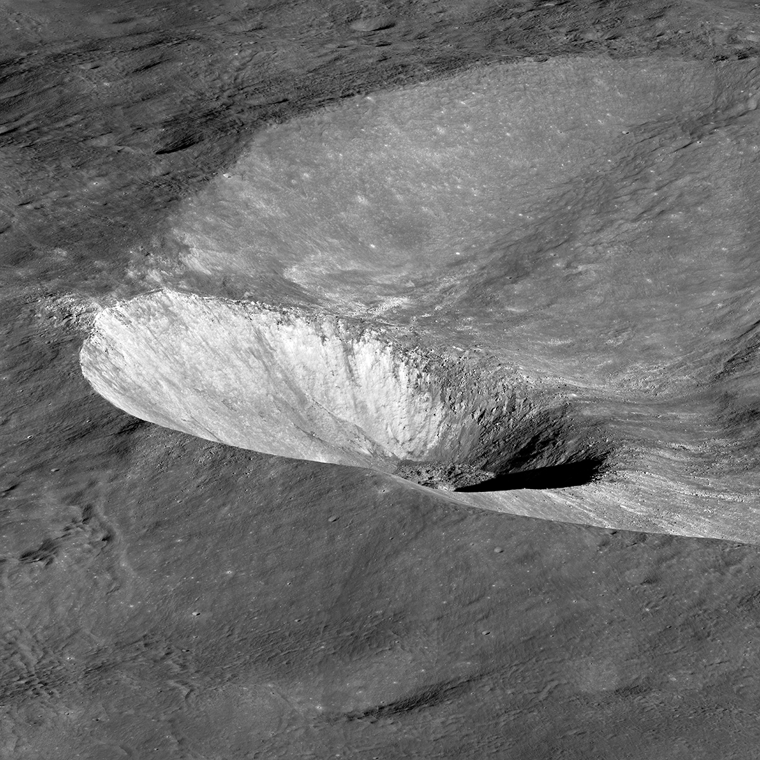 Hawke crater