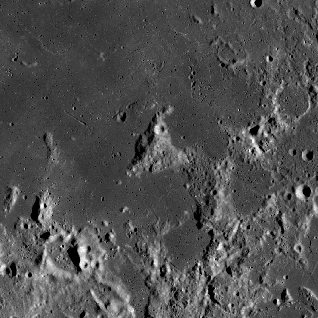 138 km wide view, centered on Mt. Marilyn
