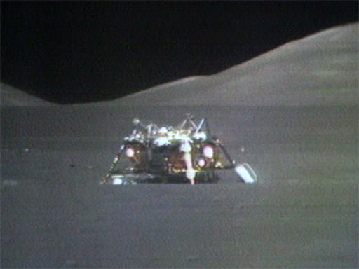 the lunar lift off from moon nasa - photo #7