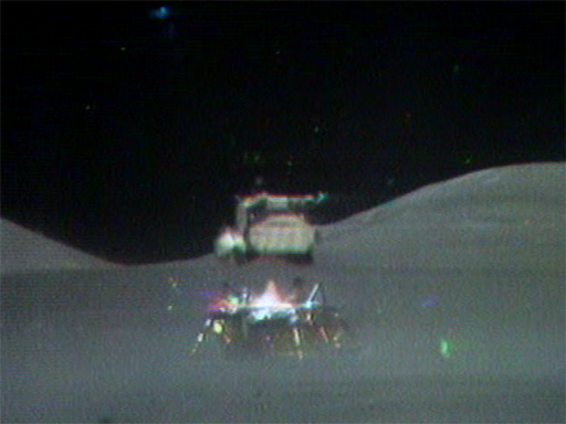 the lunar lift off from moon nasa - photo #6