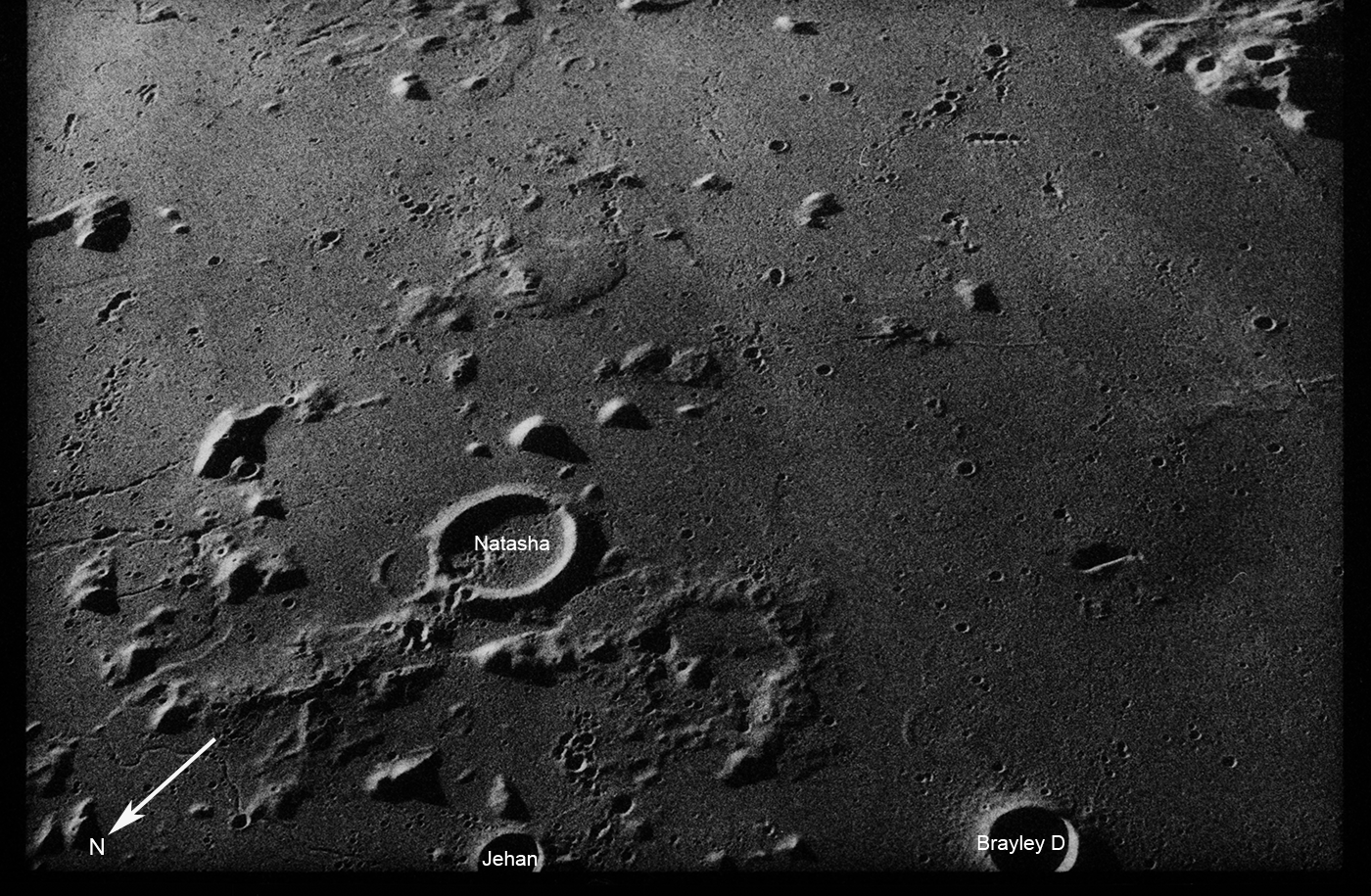 Mare Imbrium, Apollo 17 35-mm frame