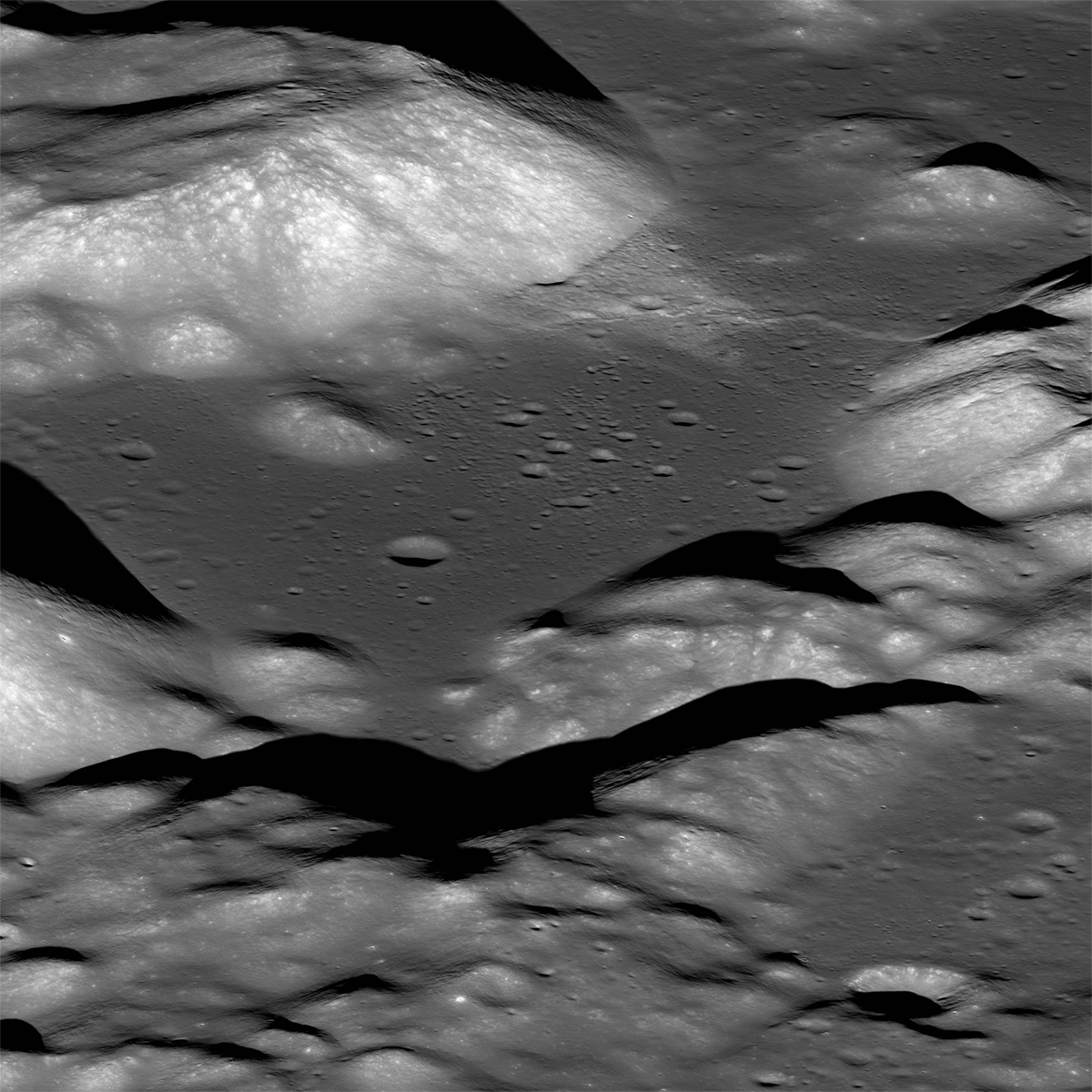 Taurus Littrow Valley from the east
