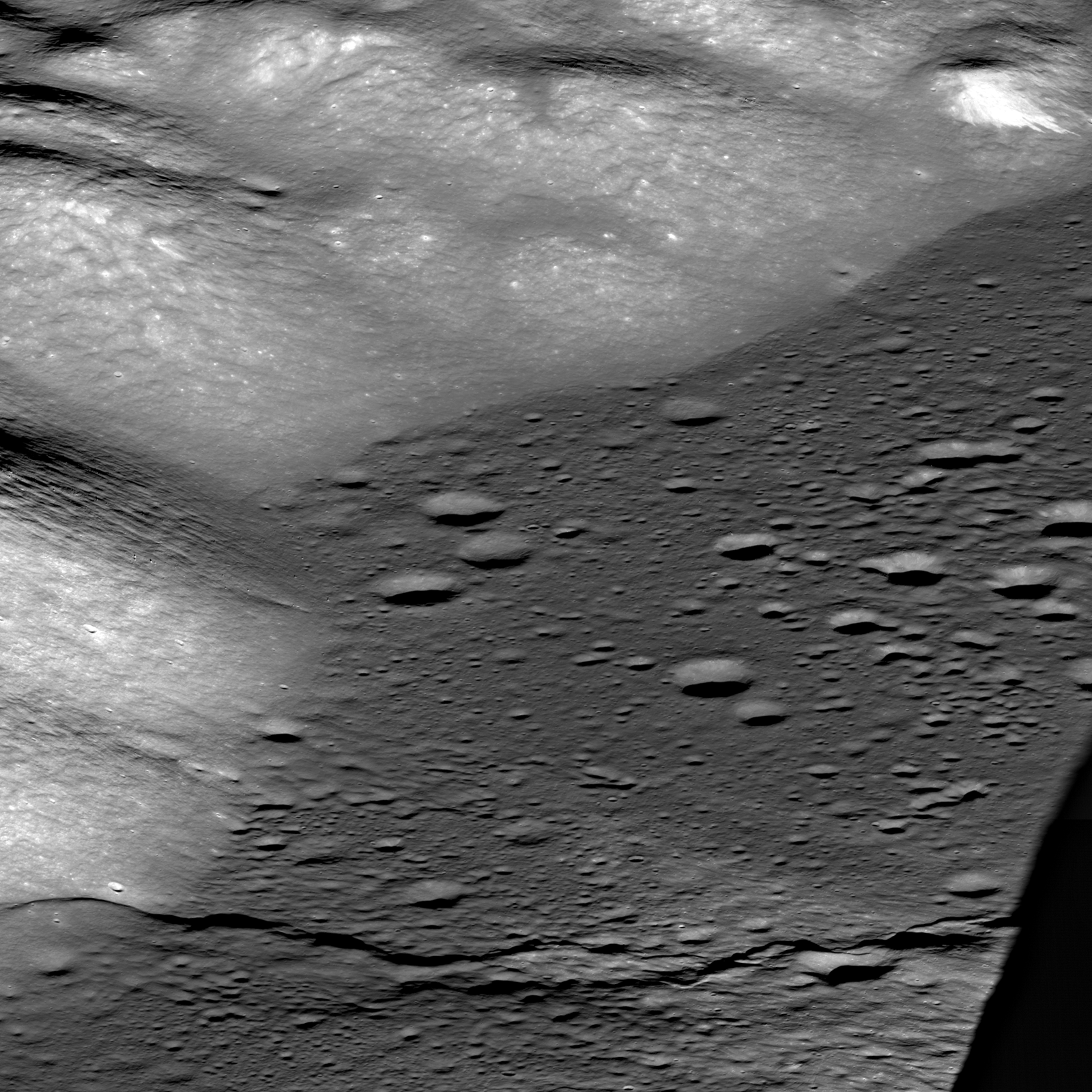 Taurus Littrow Valley, West to East