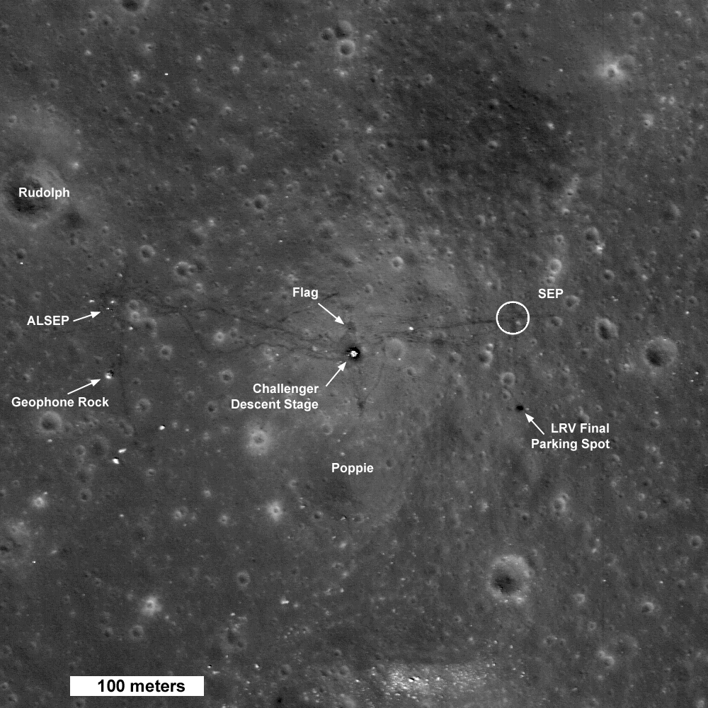 apollo 11 landing site earth - photo #37