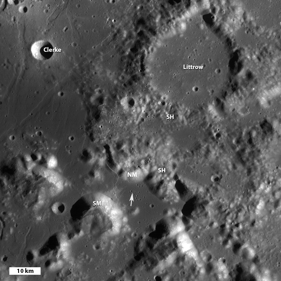 Lunar Pioneer: Approach to Taurus Littrow Valley