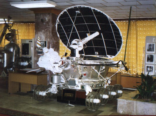 Model of the Lunokhod 2