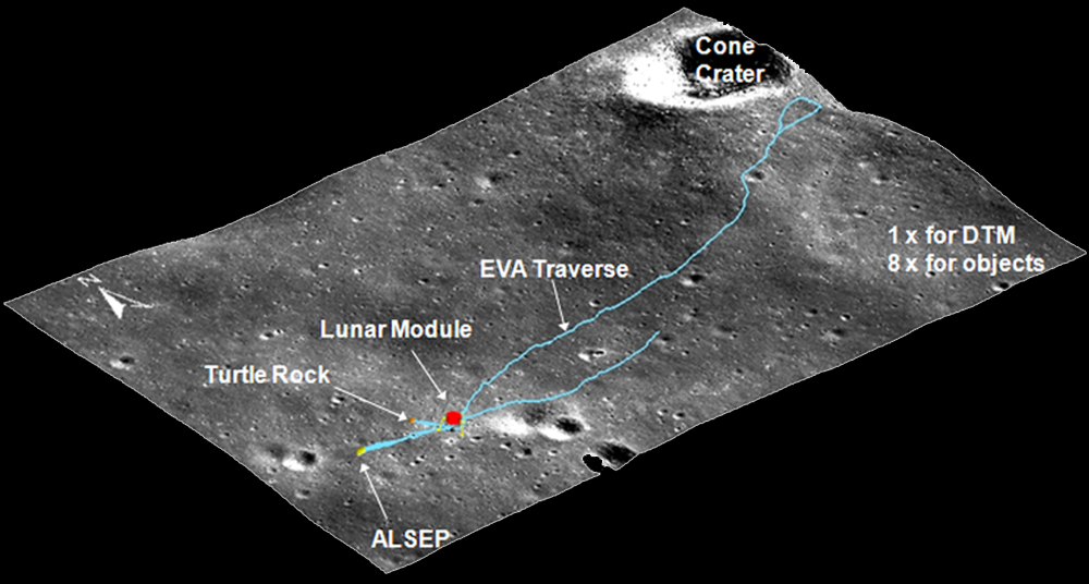 Exciting new images lunar reconnaissance orbiter camera 3d site