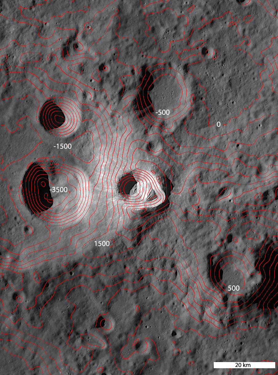 WAC Topography Ryder crater