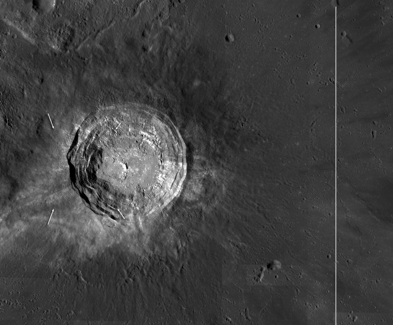 Early afternoon Aristarchus Crater