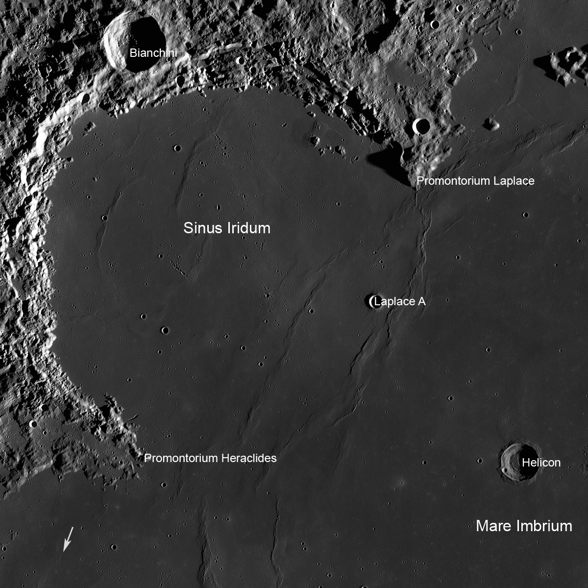 Potential landing sites for Luna-25 are selected